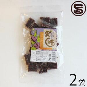 わかまつどう製菓 ブルーベリー黒糖 (加工) 140g×2袋 沖縄 人気 土産 定番 お菓子 黒砂糖  送料無料
