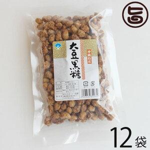わかまつどう製菓 大豆黒糖 (加工) 140g×12袋 沖縄 人気 土産 定番 お菓子 黒砂糖 送料無料