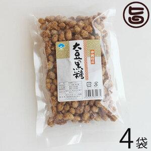 わかまつどう製菓 大豆黒糖 (加工) 140g×4袋 沖縄 人気 土産 定番 お菓子 黒砂糖  送料無料