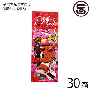 珍品堂 子宝ちんこすこう 南国チョコ 12個×30箱 沖縄 土産 定番 人気 菓子 おやつ ちんすこうが子宝バージョンとなって新登場! ネタ おもしろ ハロウィン 送料無料