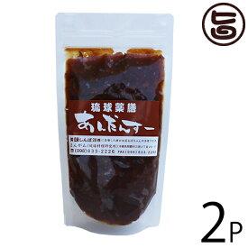 まんがん 琉球薬膳 あんだんすー 豚みそ 300g×2P 沖縄 土産 人気 調味料 油みそ 味噌 ご飯のお供 送料無料