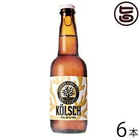 サンゴビール ケルシュ 330ml×6瓶 沖縄 人気 地ビール 沖縄産 お土産 贈り物 贅沢 送料無料