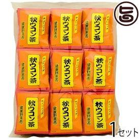 比嘉製茶 秋ウコン茶 ティーバッグタイプ(2g×100P)×1セット 沖縄 土産 人気 健康 野草茶 鬱金 ティータイムに 送料無料