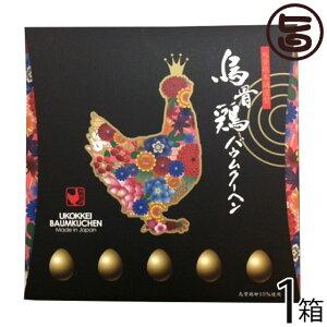 烏骨鶏本舗 烏骨鶏煌バウムクーヘン 200g×1箱 岐阜県 土産 人気 貴重で濃厚な烏骨鶏卵使用 こだわり製法 条件付き送料無料