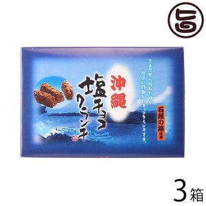 楠昌 沖縄 塩チョコクランチ 12個入×3箱 沖縄 土産 人気 チョコ菓子 石垣の塩使用 個包装 ばら撒き土産にもオススメ 送料無料