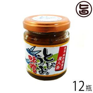 屋久島ふれあい食品 とびうお味噌 110g×12瓶 鹿児島県 人気 土産 調味料 ご飯のおともに、野菜スティック(きゅうり、ネギ等)に 条件付き送料無料