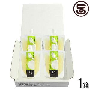 土佐名産会 土佐の果実100% 飲むゼリー 160g 文旦×4個×1箱 高知県 人気 定番 土産 ゼリー飲料 条件付き送料無料