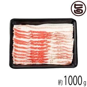 ギフト フレッシュミートがなは やんばる島豚あぐー ≪黒豚≫ バラ 焼き肉用 1000g 沖縄 土産 貴重 ブランド肉 高級豚肉 贈り物に 条件付き送料無料