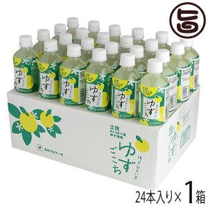 ほっとひといき ゆずごこち 箱(24本入り) 高知県 土佐 れいほく産 柚子果汁 はちみつ 蜂蜜 条件付き送料無料