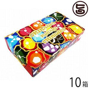 くがにちんすこう ミニ箱 10個入×10箱 沖縄 土産 人気 甘い  条件付き送料無料