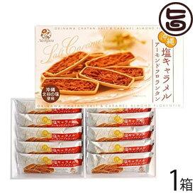 塩キャラメル アーモンドフロランタン 10枚入×1箱 送料無料 沖縄 土産 定番 人気
