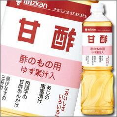 ミツカン 甘酢ペットボトル1L×1ケース(全8本)