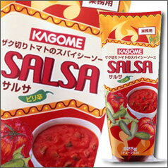【送料無料】カゴメ サルサ(ピリ辛)チューブ925g×2ケース(全24本)
