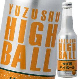 【送料無料】黄桜 ゆず酒ハイボール250ml瓶×1ケース(全12本)