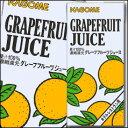 カゴメ グレープフルーツジュースホテルレストラン用1L×1ケース(全6本)【to】【KAGOME】【紙パック】【業務用】【1000ml】