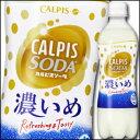 カルピス カルピスソーダ濃いめ500ml×1ケース(全24本)【to】【新商品】【新発売】【CALPIS】【アサヒ】【ASAHI】…