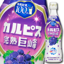 アサヒ カルピス 完熟巨峰470mlプラスチックボトル×1本【to】