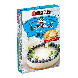 【送料無料】森永 レアチーズケーキミックス110g×1ケース(全30本)