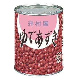【送料無料】井村屋 ゆであずき(2号缶)1kg缶×1ケース(全12本)