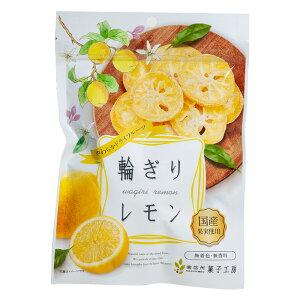 【ネコポス便】【送料無料】南信州菓子工房 国産果実使用 やわらかドライフルーツ 輪ぎりレモン40g袋×2袋