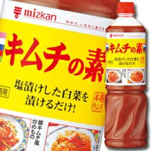 【送料無料】ミツカン キムチの素ペットボトル1140g×2ケース(全16本)