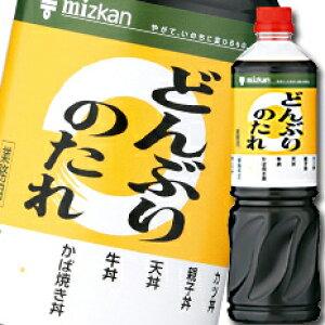 【送料無料】ミツカン どんぶりのたれペットボトル1L×2ケース(全16本)