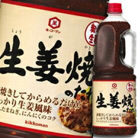 【送料無料】キッコーマン 生姜焼のたれハンディペット2060g×2ケース(全12本)
