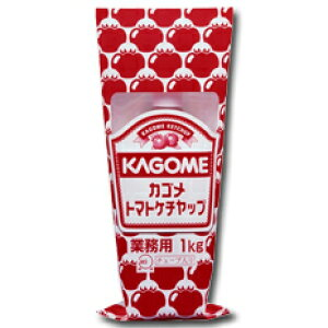 【送料無料】カゴメ トマトケチャップ標準1kgチューブ×1ケース(全12本)