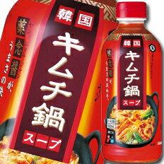 キッコーマン 韓国キムチ鍋スープ500mlペット×1ケース(全12本)