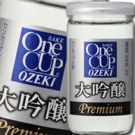 【送料無料】大関 ワンカップ大吟醸180ml瓶×2ケース(全60本)