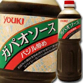 【送料無料】ユウキ食品 ガパオソース(バジル炒め)1.2kg×1ケース(全6本)