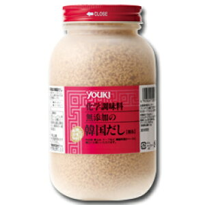 【送料無料】ユウキ食品 化学調味料無添加の韓国だし400g×2ケース(全24本)