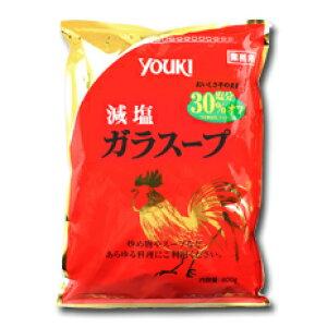 ユウキ食品 減塩ガラスープ(袋)800g×1ケース(全10本)
