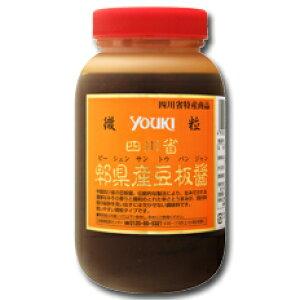 ユウキ食品 四川省ピィ県産豆板醤(微粒)1kg×1ケース(全12本)
