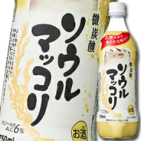 【送料無料】サントリー ソウルマッコリ750mlペットボトル×2ケース(全30本)