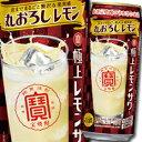 【送料無料】宝酒造 寶極上レモンサワー 丸おろしレモン500ml缶×2ケース(全48本)