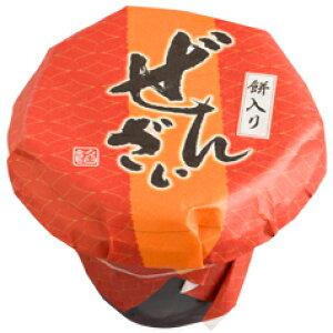 【送料無料】京都・都製餡 (北海道産小豆と国産もち米使用)餅入り北海ぜんざい170g×10個セット