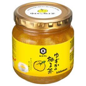 【送料無料】キッコーマン ゆずかの柚子茶580g瓶×1ケース(全12本)