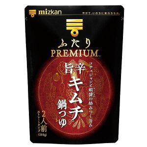 ミツカン ふたりPREMIUM 旨辛キムチ鍋つゆ500g×1ケース(全12本)