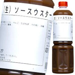 【送料無料】オタフクソース ユニオン 生ソースウスター ペットボトル1L×2ケース(全12本)