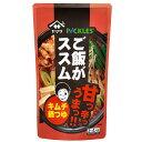 【送料無料】ヤマサ ご飯がススム キムチ肉鍋つゆ750g×1ケース(全12本)