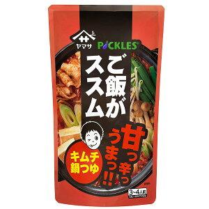【送料無料】ヤマサ ご飯がススム キムチ肉鍋つゆ750g×2ケース(全24本)