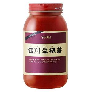 【送料無料】ユウキ 四川豆板醤1kg×1ケース(全12本)