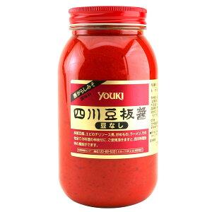 【送料無料】ユウキ 四川豆板醤(豆なし)1kg×2ケース(全24本)