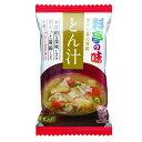 【送料無料】マルコメ フリーズドライ 料亭の味 とん汁1食入袋×2ケース(全160本)