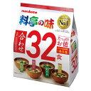 マルコメ たっぷりお徳 料亭の味32食入袋×1ケース(全12本)