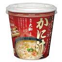 マルコメ カップ 魚がし横丁 かに汁1食入即席カップ×1ケース(全60本)