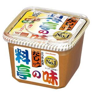 【送料無料】マルコメ だし入り 料亭の味750gカップ×2ケース(全16本)