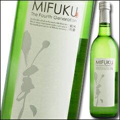 滋賀県・美冨久酒造 MIFUKU 純米吟醸酒 ワインボトル720ml×1本