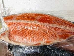 銀鮭 ・中辛 1枚(半身)【チリ産・約1kg】脂あります。インジェクション加工はしておりません!【冷凍便】